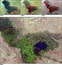 Shrinking Lake Chad