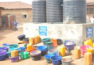 The launch of Hope Spring / Kongbari Water Project