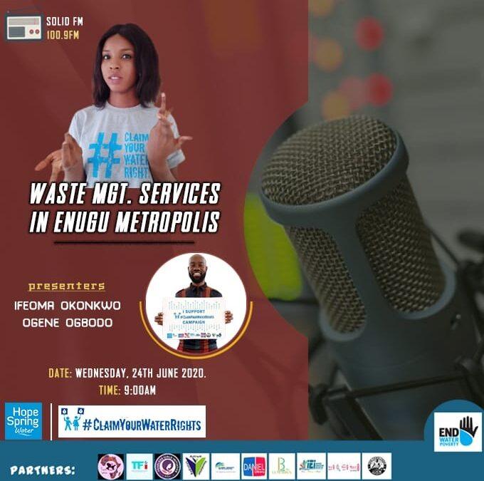 Episode 4: Waste Management Services in Enugu Metropolis