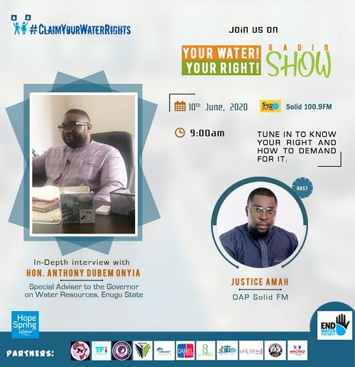 Episode 3: Water rights and water provision in Enugu amid Covid 19