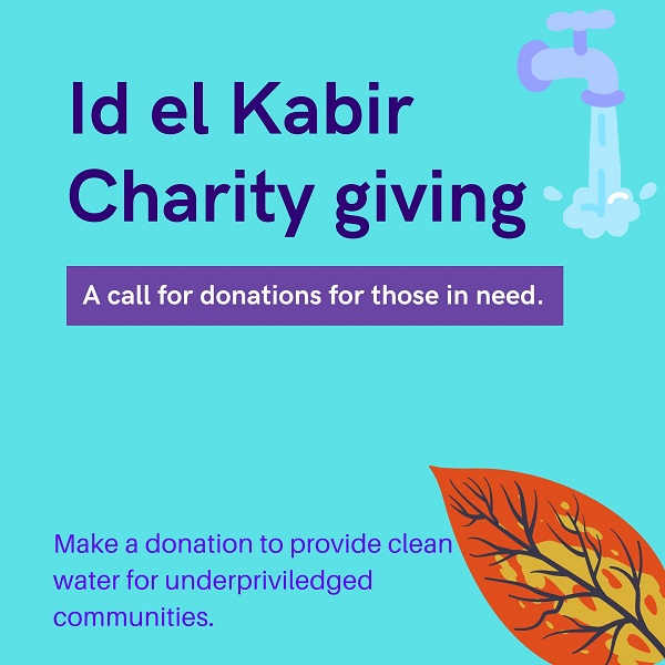 Id el Kabir charitable giving: Providing to the less fortunate